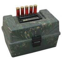 MTM 100 ROUND 12G SF-100 SHOTSHELL BOX, CAMO