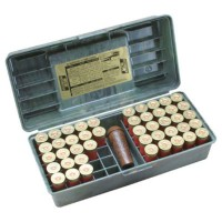 MTM 12G Shotshell box (holds 50 rounds)