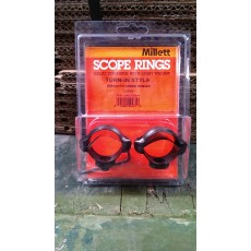 Millett 30mm Turn-In-Style Low Scope Rings