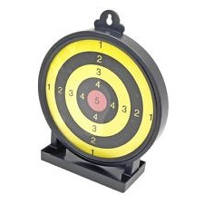 STICKY BB AIRSOFT PRACTICE TARGET- WITH BB CATCHER TRAY