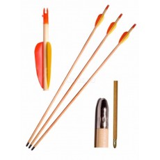 "WOODEN ARCHERY ARROWS 28"" (PACK OF 5)"