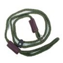 TRADITIONAL OLIVE DOG LEAD