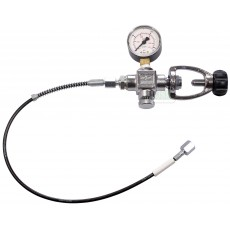 A CLAMP GUN CHARGING HOSE & GUAGE SYSTEM FOR DIVING BOTTLE'S
