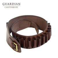 Guardian Canterbury Chestnut Leather Cartridge Belt