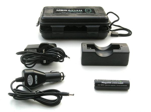 Laserwear LASERWARE MEGALITH 18650 2800MAH - SINGLE CHARGER PACK (6HR)
