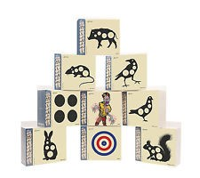 Flip Card Targets Pack Of 50 Airgun Targets