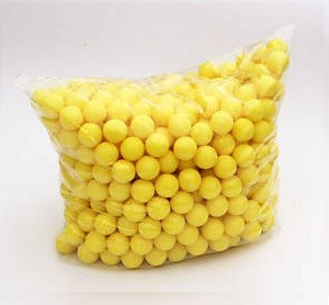 500 YELLOW PAINTBALLS .68CAL