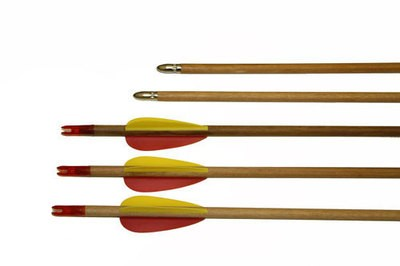 27'' WOODEN ARROWS