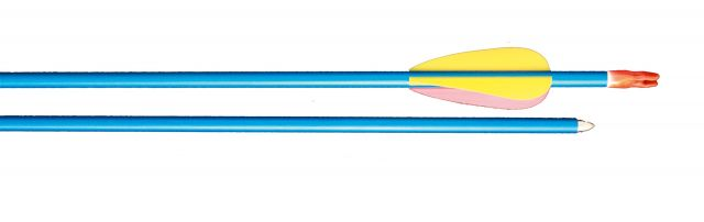 "BLUE ALUMINIUM ARROWS 30"" (PACK OF 5)"