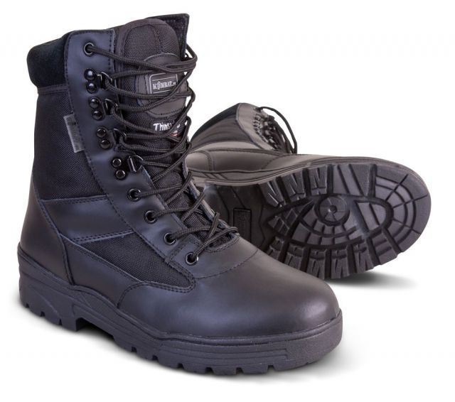 3M THINSULATE TACTICAL 50/50 LEATHER CORDURA PATROL BOOTS
