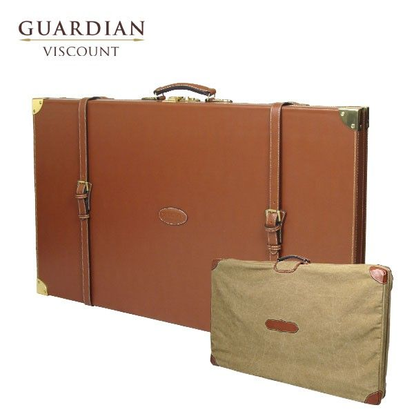 Guardian Guardian Viscount Leather Double Shotgun Case (Includes Case Cover)