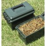 MTM MTM PLASTIC 50 CALIBRE AMMO CAN (MILITARY BLACK IN COLOUR)